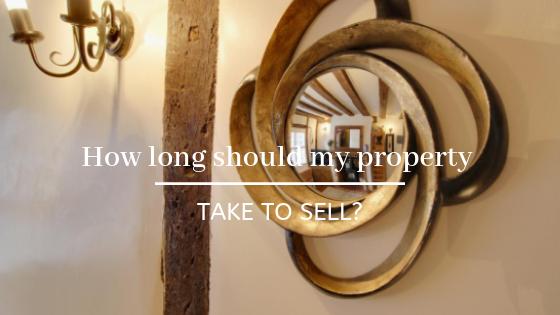 How long should my property take to sell?