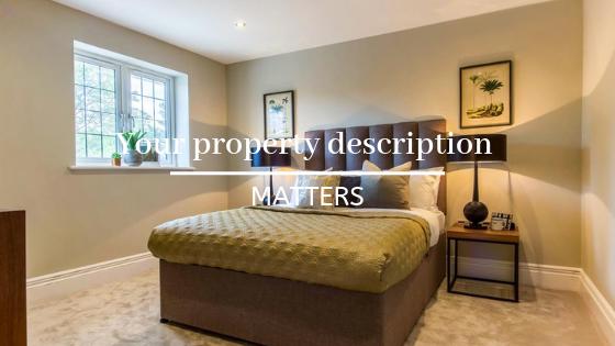 Your property description matters