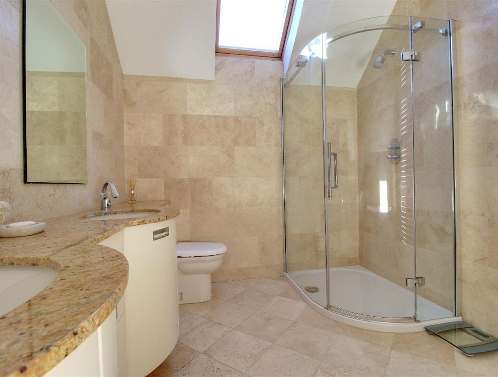 The Master En-suite, which includes a fabulous jacuzzi bath